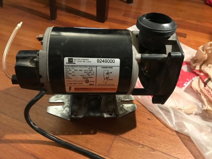 q how to make a jacuzzi motor