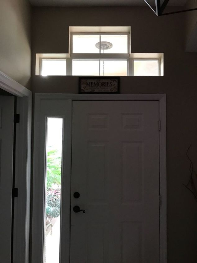 q how to mimic custom glass door inserts in a transom