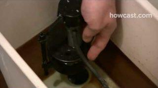 q unning toilet how do i fix u