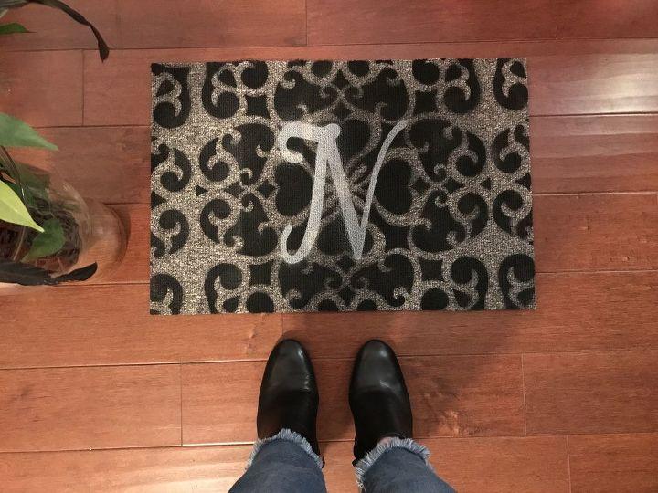 custom dollar store floor mat