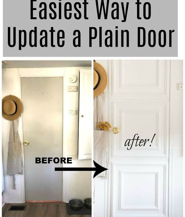 updating an old door