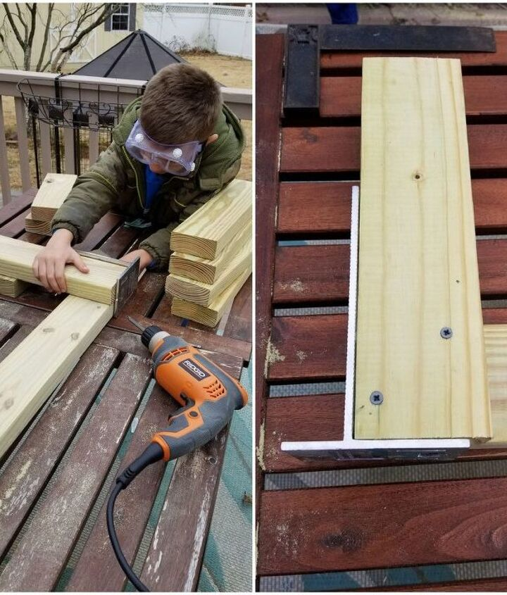 outdoor 2x4 bench