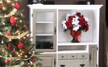Don't Toss That Outdated Entertainment Center - Paint It!