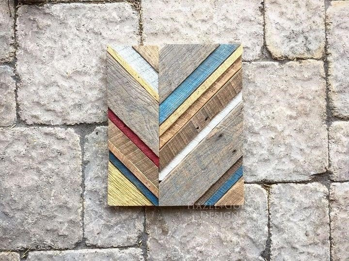 Reclaimed Wood Wall Art (Sheri K)