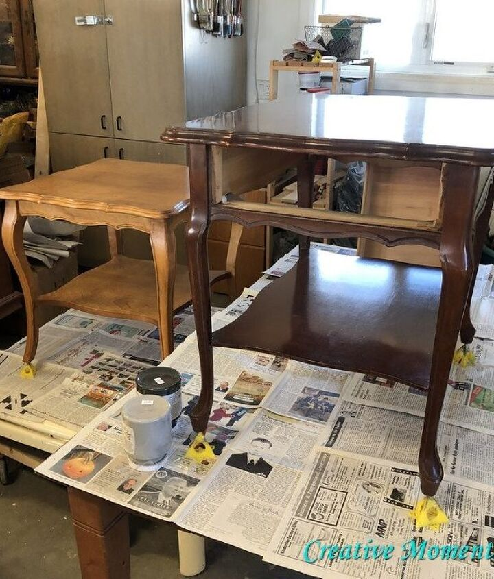 creating matching end tables