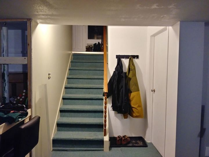 q need to close basement formation extra appartement