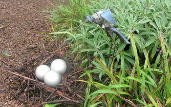 Bird Eggs - Painted Light Globes