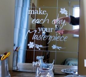 How To Make A Dollar Store Etched Mirror Diy Hometalk