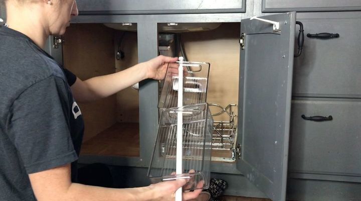 organize under your kitchen sink in no time with these tricks