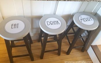 Counter Stool Re-Do