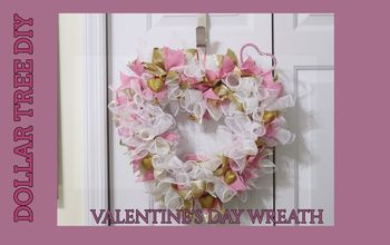 VALENTINE'S DAY GLAM DECO MESH WREATH