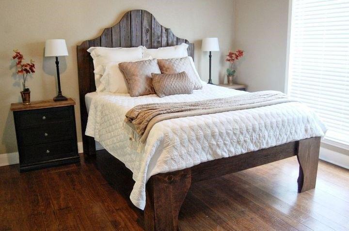Reclaimed Wood Bed (Suzie W)