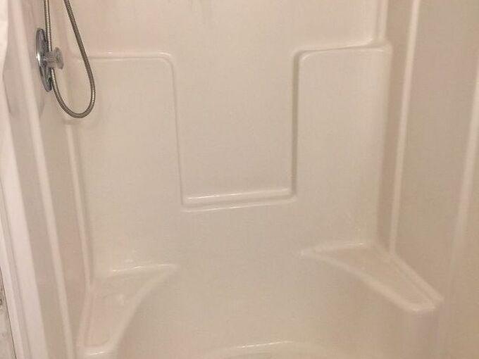 q shower curtain or shower door
