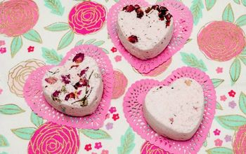 Bath in Luxury With These (easy) DIY Rose Petal Bath Bombs