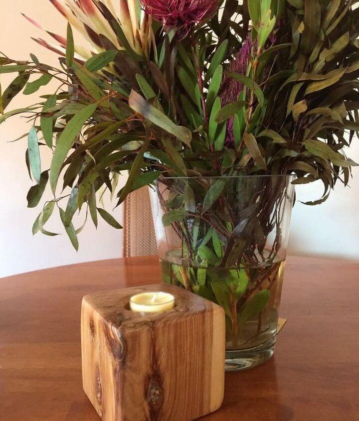 tea light candle cube
