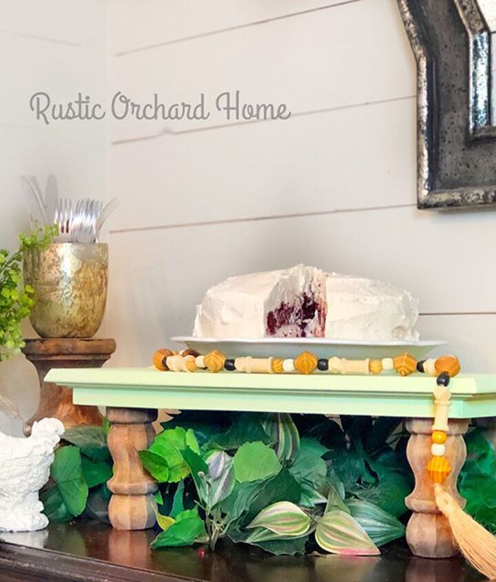 repurposed cabinet door farmhouse tray