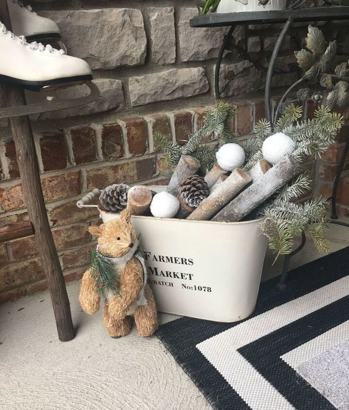 how to give your front porch a fresh winter look