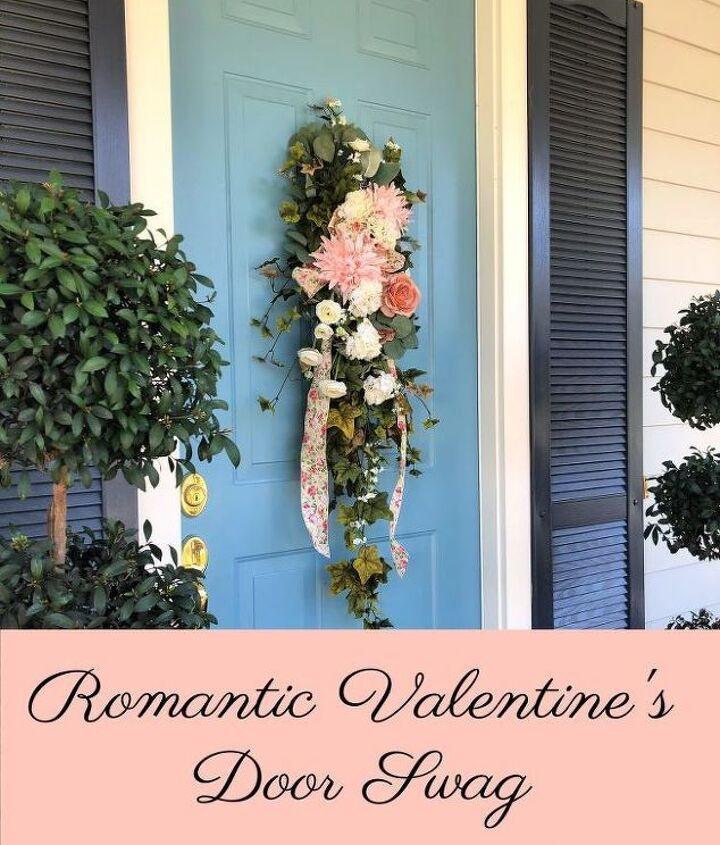 romantic valentine s door swag