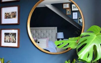 How to Turn an Ordinary Cheap Plastic Mirror Into a Luxurious Piece