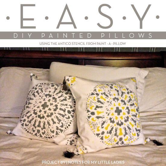 DIY Decor Ideas for Bedroom (Cutting Edge Stencils)