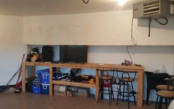 bar build garage storage part 1, Before Shot of the Space