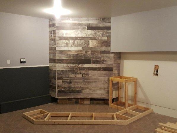 bar build garage storage part 1