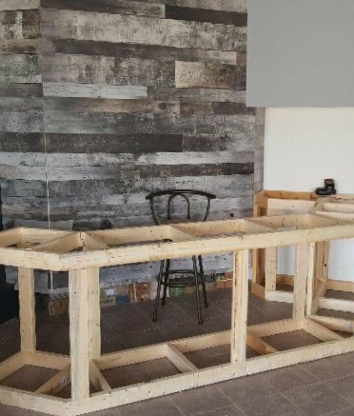Bar Counter Framed