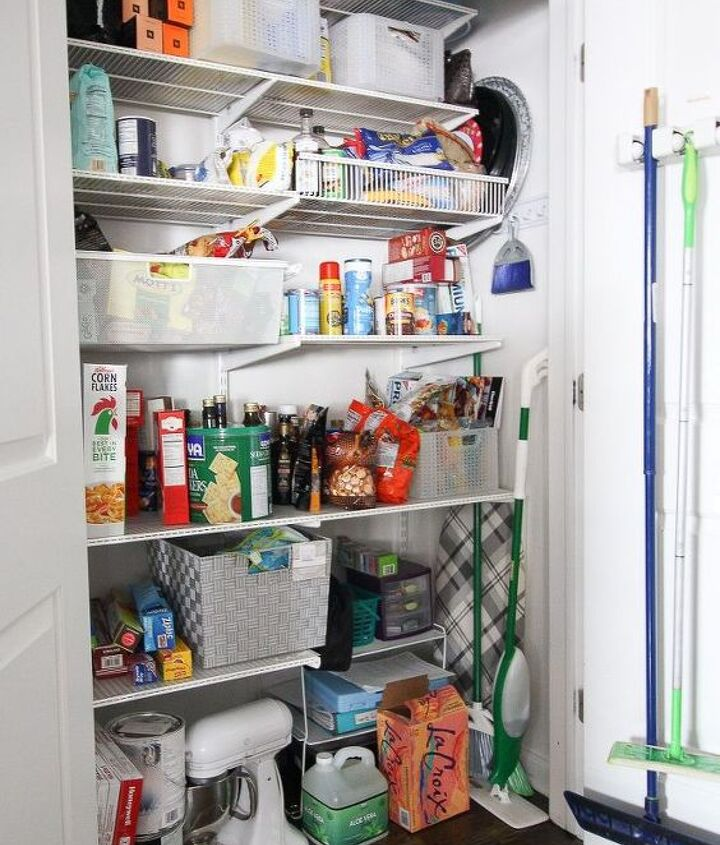 budget friendly pantry makeover