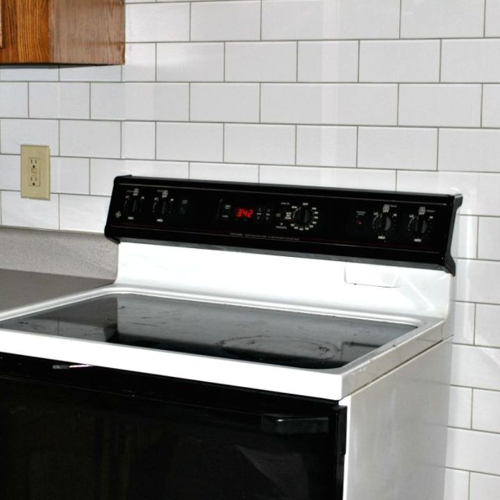 how to install a peel and stick subway tile backsplash