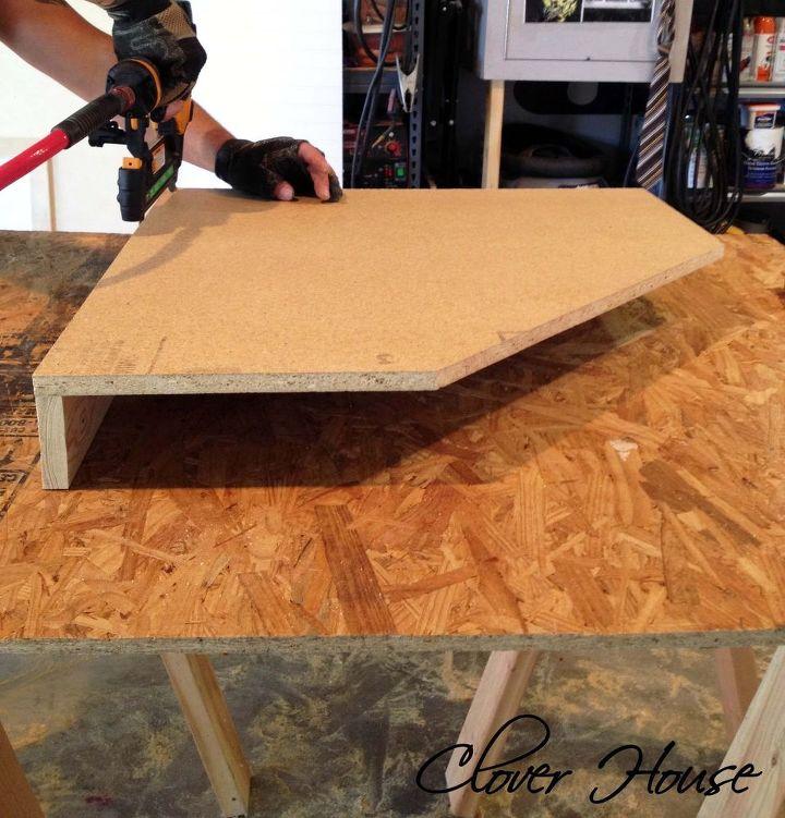building a kitchen corner cabinet