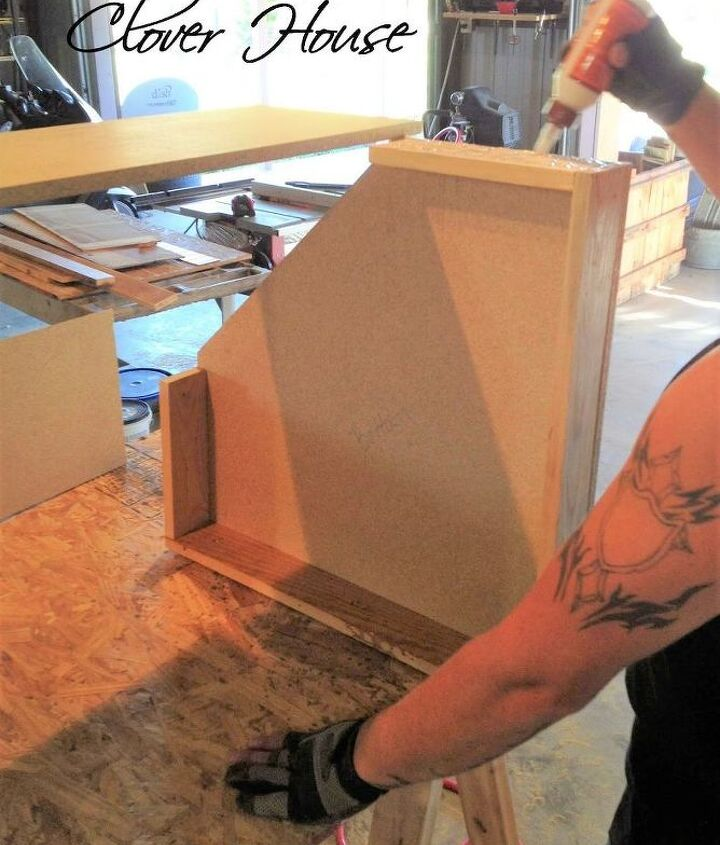 building a kitchen corner cabinet