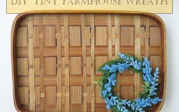 DIY Tiny Farmhouse Wreath