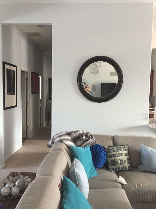 q how to decorate 2 walls in my home
