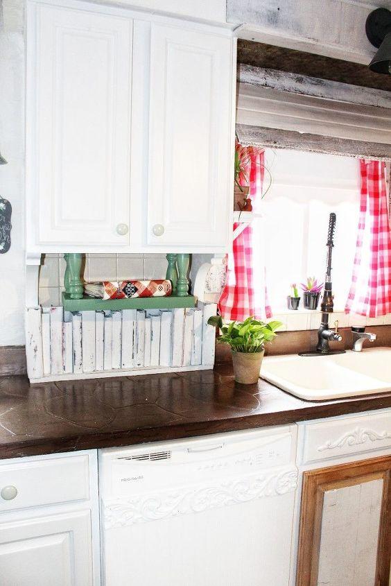 easy under cabinet kitchen shelf