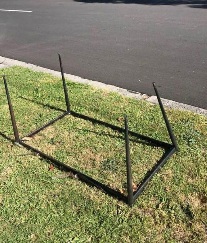 Frame discovered on roadside.