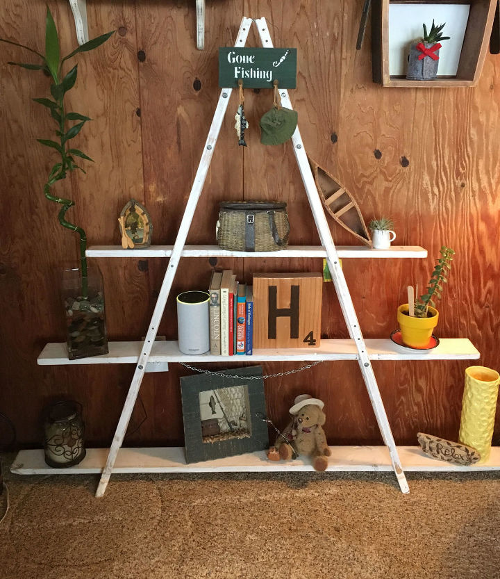 from crutches to a shelf or even a christmas tree