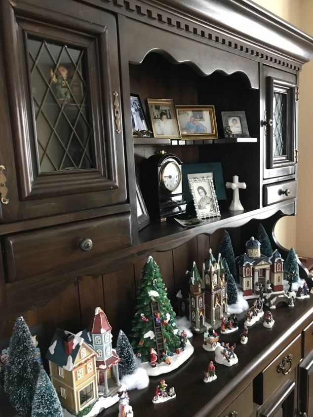 q what color technique would you use to paint this dated hutch thanks