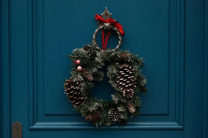 Christmas Wreath (pixabay)