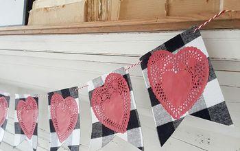 Farmhouse Valentine's Day Banner...