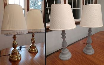 dingy dated lamps to clean modern lamps