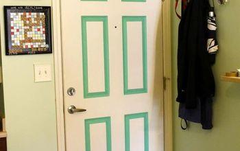 Renter Friendly Front Door Update