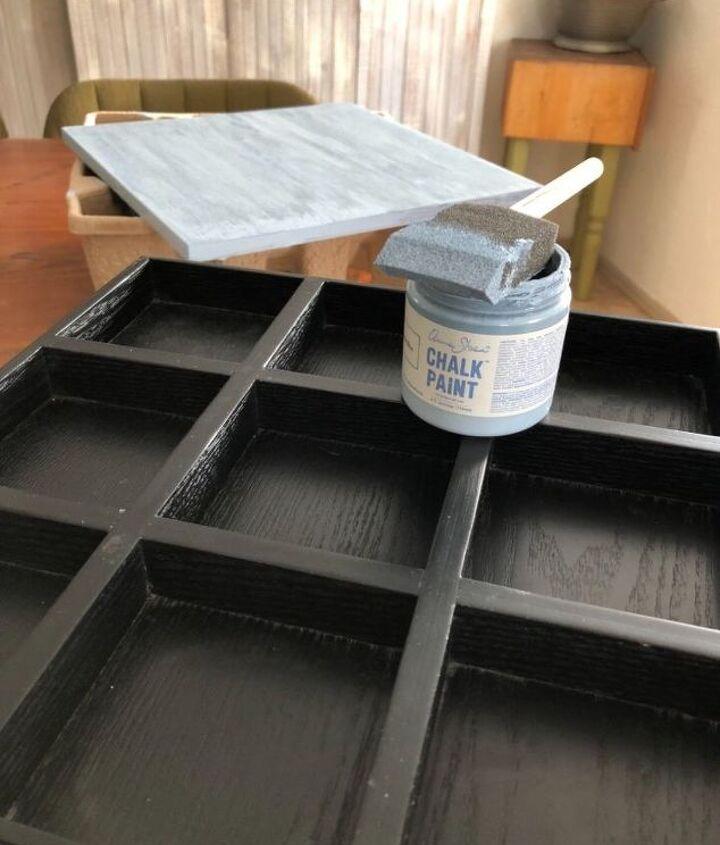 Annie Sloan light blue chalk paint