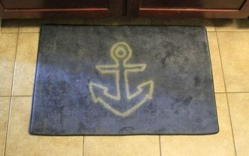 DIY Anchor Floor Mat