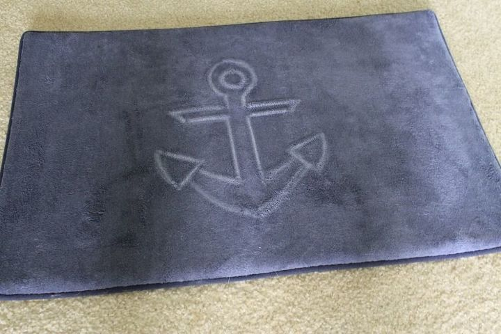 diy anchor floor mat