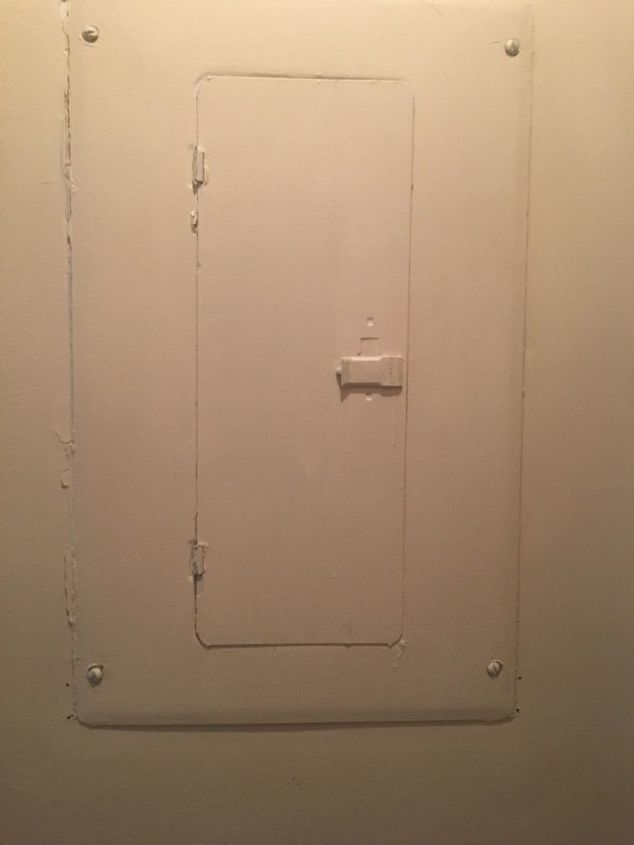 q how do i cover an electrical box on the wall