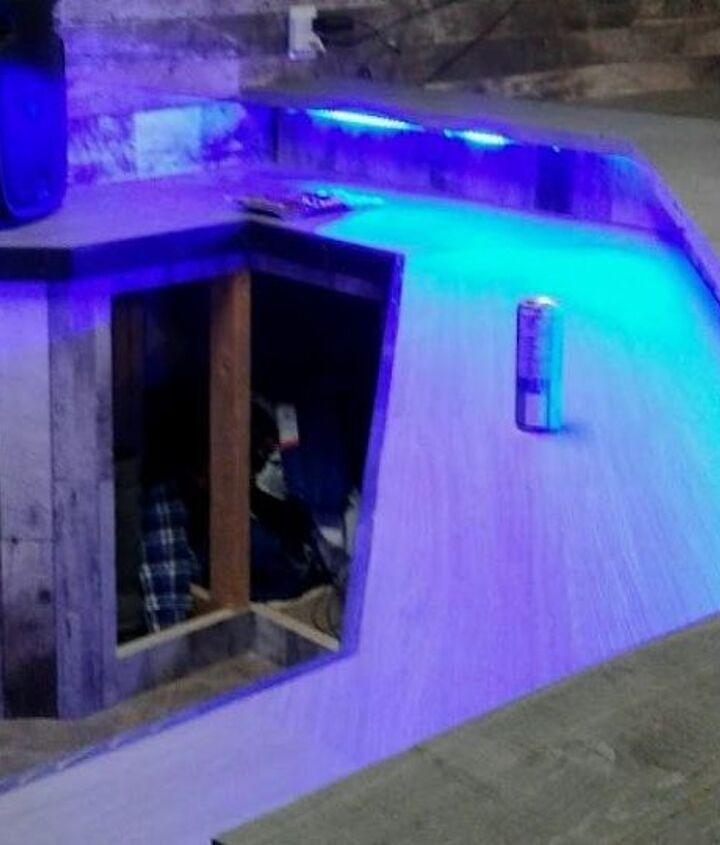 garage bar build