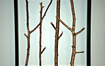 Framed Branch Decor Ideas
