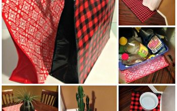 6 Easy DIY Home Hacks Using Reusable Shopping Bags