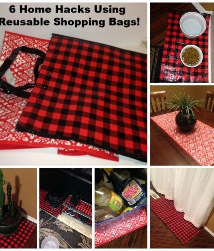6 easy diy home hacks using reusable shopping bags