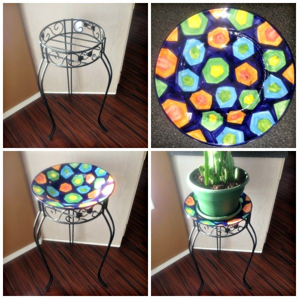 diy plant stand make over